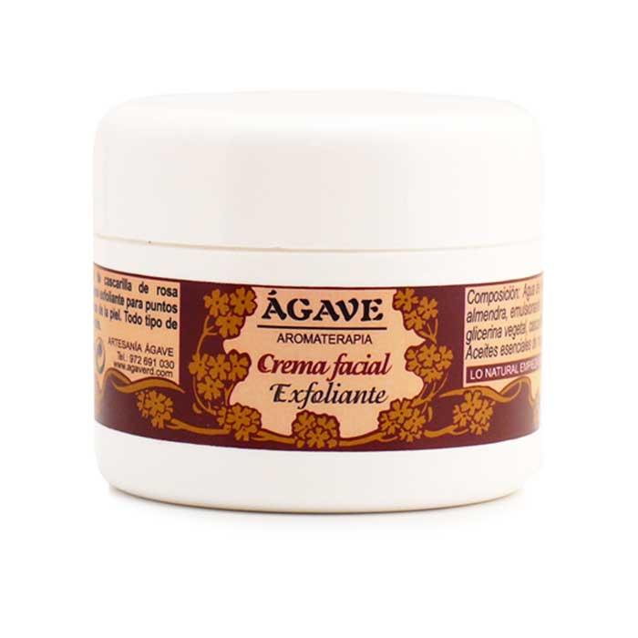 CREMA FACIAL EXFOLIANTE piel limpia y suave, hidratante