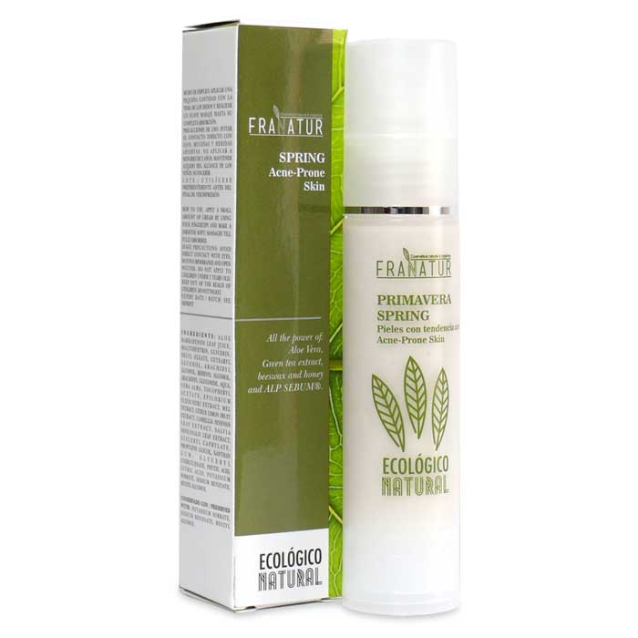 CREMA FACIAL PRIMAVERA para pieles acneicas