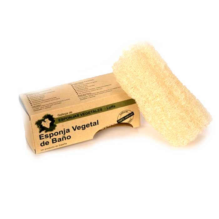 ESPONJA VEGETAL NATURAL DE LUFFA
