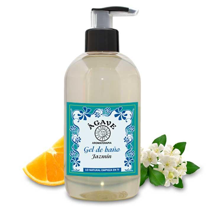 GEL DE JAZMÍN, delicado aroma, suavizante corporal