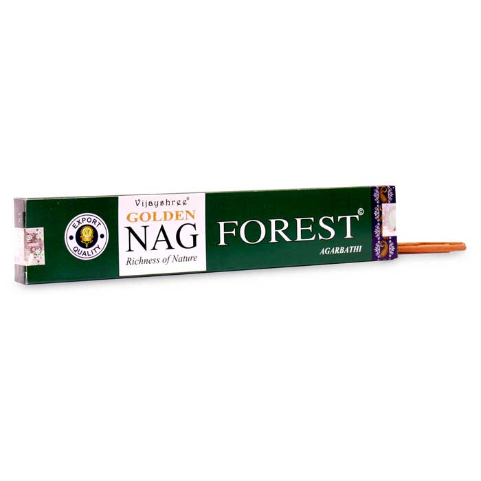 INCIENSO GOLDEN NAG FOREST aromas del bosque