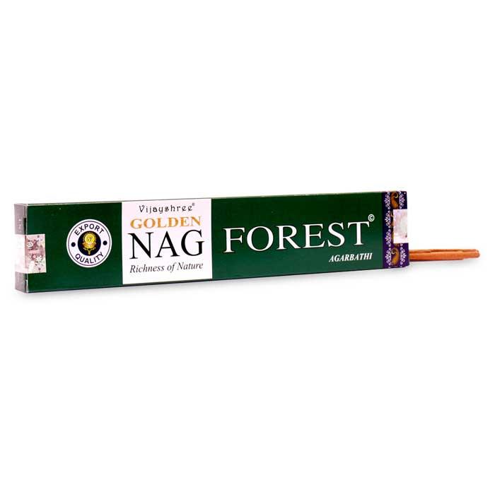 INCIENSO GOLDEN NAG FOREST aromas del bosque