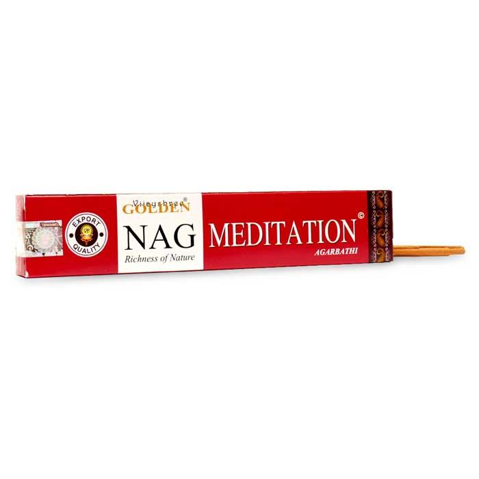 INCIENSO GOLDEN NAG MEDITACIÓN aromas relajantes